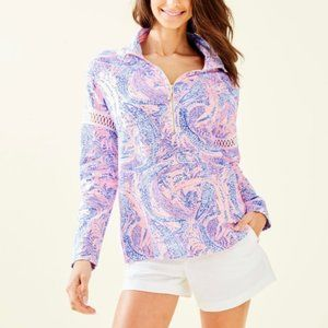 NWT Lilly Pulitzer Jonah Popover Maybe Gator Small